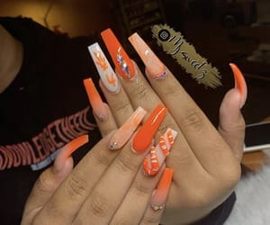 colors, fake nails, and nails image