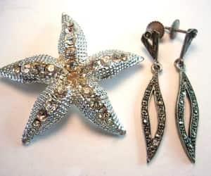 Dangle, 925 earrings, and etsy image