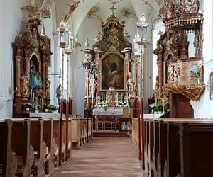 altar, bavaria, and Catholic image