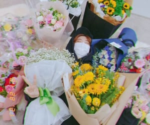 flowers, kpop, and choi youngjae image