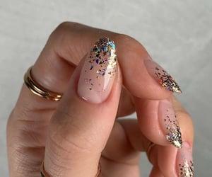 beauty, fashion, and almond nails image