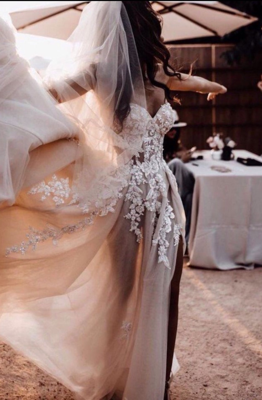 fashion, style, and wedding image