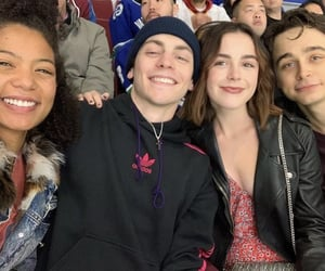 caos, jaz sinclair, and ben ahlers image