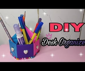 decor, Desk Organizer, and do it yourself image