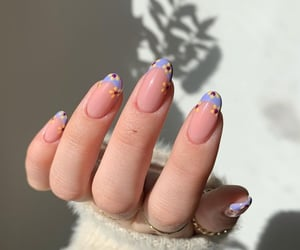 accessories, almond nails, and nails image