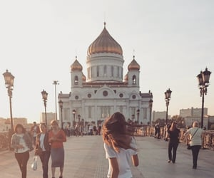 travel, bigcity, and moscow image