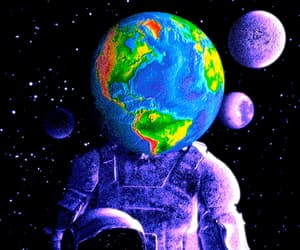 aesthetic, earth, and planets image