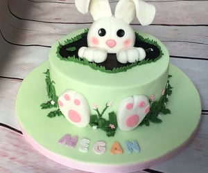birthday, bunny, and theme image