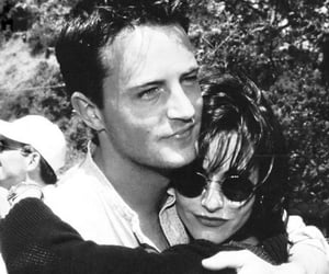 friends, monica, and Matthew Perry image