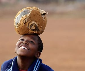 africa, happiness, and football image