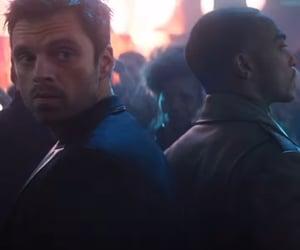 Avengers, disney +, and falcon image