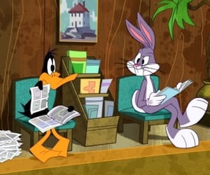 bugs, daffy duck, and looney tunes image
