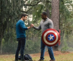 Avengers, sebastian stan, and captain america image