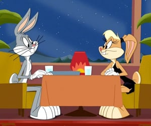 bugs, Lola, and looney tunes image