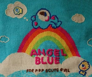 fashion, cute, and angel blue image