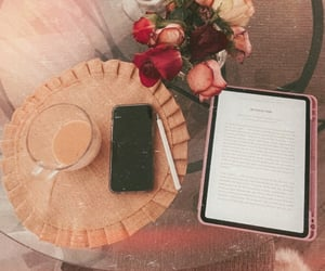 aesthetic, student, and ipad image