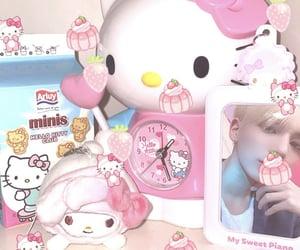 kawaii, pink, and taehyun image