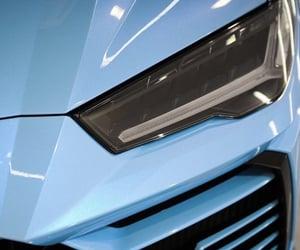 blue, Lamborghini, and urus image