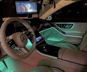 led, mercedes, and maybach image