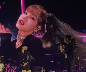kpop, stage, and lisa image