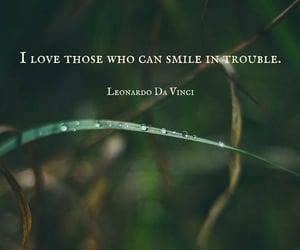 Leonardo da Vinci, quotes, and smile image