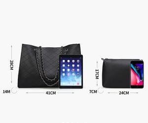 fashion, purse, and shoulder bag image