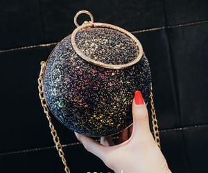 sequins bag, women's bags, and round bag image