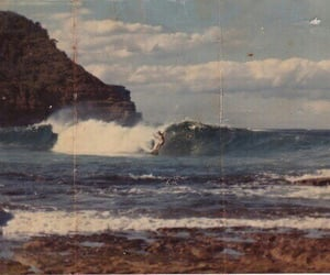 vintage, sea, and beach image