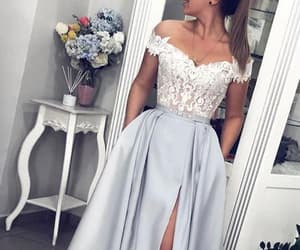 dress and prom gown image