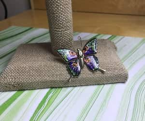 etsy, colorful butterfly, and butterfly brooch image