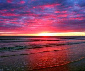 beaches, travel pics, and sundown image
