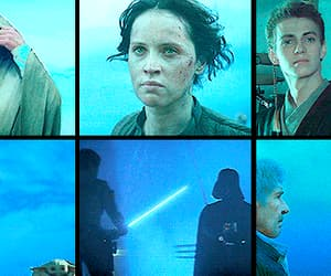 aesthetic, gif, and Return of the Jedi image