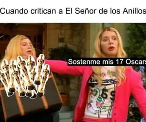 gracioso, señor de los anillos, and memes image
