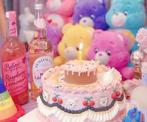 birthday, care bears, and pastel image