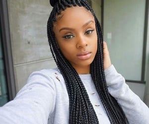 wave hair, luxy hair, and box braids image