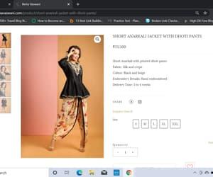 indian ethnic wear, anarkali, and lehenga image