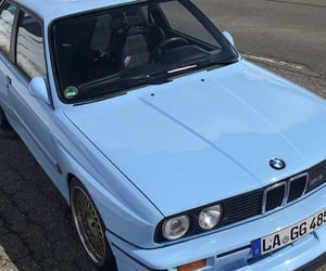 automobiles, blue, and beemer image
