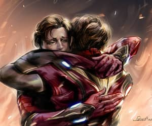 Avengers, endgame, and iron man image