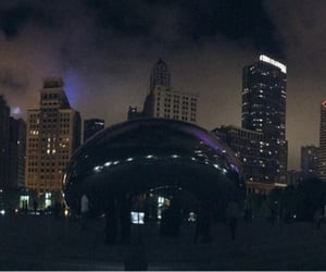 chicago, downtown, and panoramic image