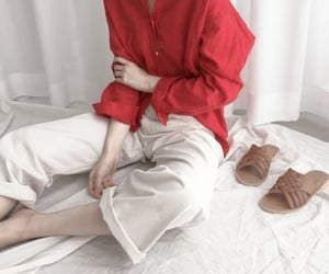 pants, style, and brown image