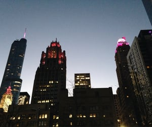chicago, downtown, and skyline image