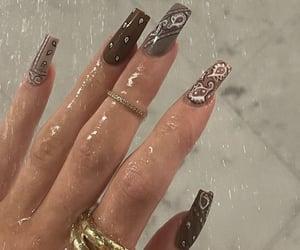 nails, kylie jenner, and nail art image