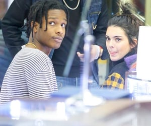 kendall jenner and asap rocky image