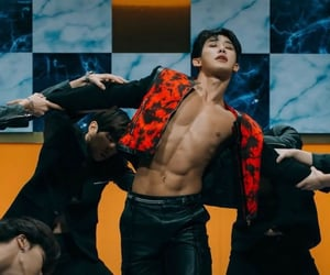 Hot, abs, and kpop image