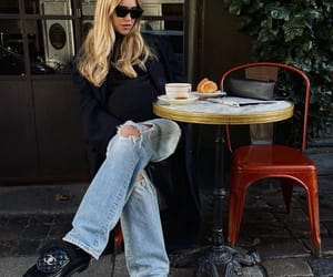 blonde, blue jeans, and fashion image