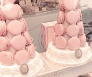 cafe, fancy, and macaron image