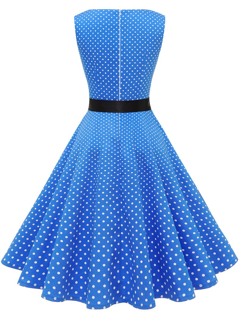 cocktail dress, vintage dress, and casual dress image
