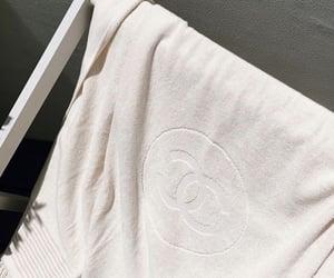 chanel and towel image