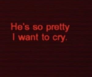 aesthetic, boy, and cry image