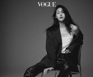 vogue korea, aöä, and seolhyun image